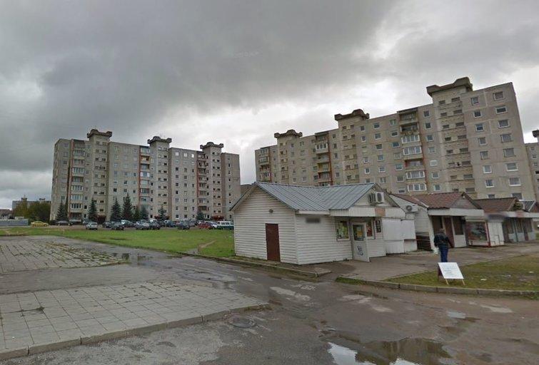 Naujo projekto vieta (nuotr. Google Maps)