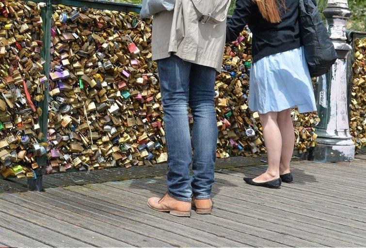 Pont des Arts (nuotr. SCANPIX)