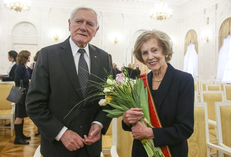 Valdas ir Alma Adamkai (Fotodiena nuotr.)