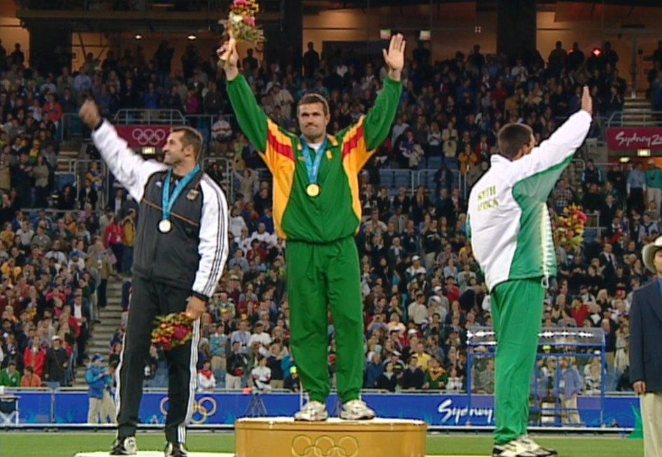 Buvusių Olimpinių žaidynių čempionai pasakojo, kokie jausmai užplūsta girdint Lietuvos himną