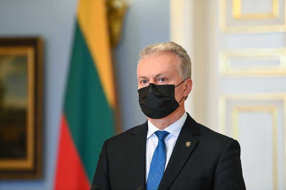 G. Nausėda patvirtino I. Šimonytės Vyriausybės sudėtį