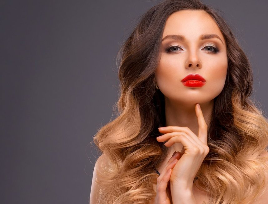 Plaukų dažymas - balayage (nuotr. Fotolia.com)