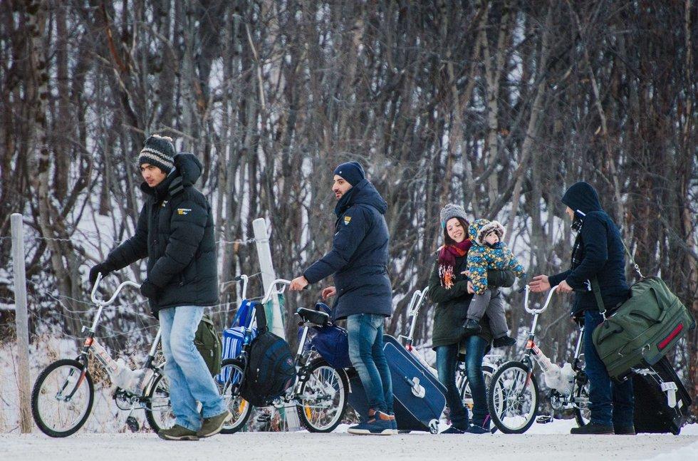Sirų migrantai Norvegijoje