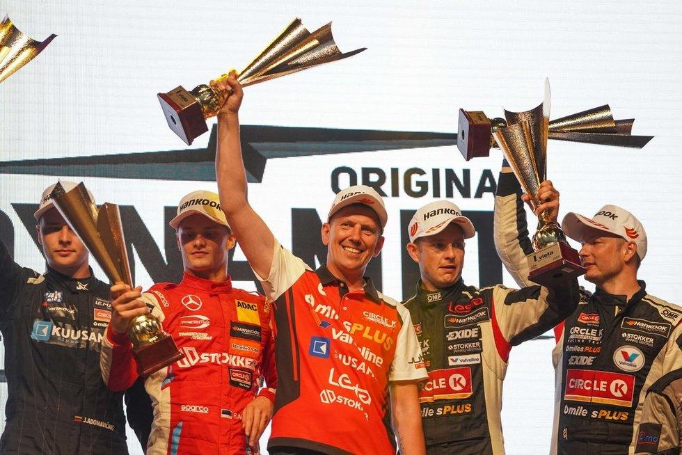"""""""Aurum 1006 km lenktynėse"""" trečią kartą iš eilės triumfavo """"Circle K miles Plus Racing Team"""""""