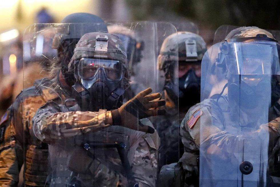 Protestas prieš prieš policijos smurtą  (nuotr. SCANPIX)
