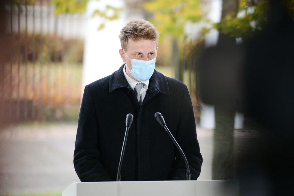 Prezidentūroje pristatytos Sveikatos ekspertų tarybos rekomendacijos dėl COVID-19 (nuotr. Fotodiena/Justino Auškelio)