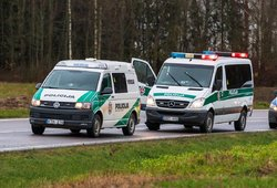 Skaudi avarija Panevėžio rajone: susidūrė motociklas ir automobilis, motociklininkas neišgyveno