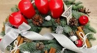 Kalėdinis vainikas (Nuotr. spaudos pranešimo)