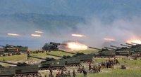 """""""Katastrofiškos pasekmės"""": Šiaurės Korėja perspėjo JAV (nuotr. SCANPIX)"""