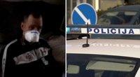 Koronavirusu užsikrėtusį plungiškį paleido iš gydymo įstaigos: policija jį apkaltino pabėgimu (tv3.lt koliažas)