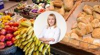 Dietologė Petereit: lėtinis nuovargis ar migrena gali byloti, kad valgote netinkamą maistą (tv3.lt fotomontažas)