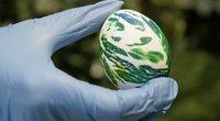 Servetėlėmis marginti kiaušiniai (nuotr. stop kadras)