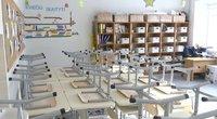 Vilniaus savivaldybės iššūkis – vienoje mokykloje nuo pirmadienio žada įsileisti mokinius (nuotr. stop kadras)