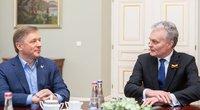 Gitanas Nausėda susitiko su Ramūnu Karbauskiu (Irmantas Gelūnas/Fotobankas)