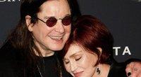 Ozzy Osbourne ir Sharon Osbourne (nuotr. SCANPIX)