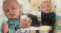 Elliotas gimė greitosios pagalbos automobilyje (nuotr. Go fund me)