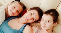 """Laidoje """"Lūžis"""" vieši dviejų mergaičių mama Vitalija Vosylė (nuotr. facebook.com)"""