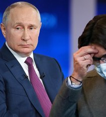 Putino propaganda baigiasi katastrofa: nepadeda ir Malachovas