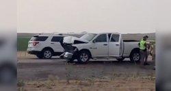 Smėlio audra JAV sukėlė masinę avariją: tarp žuvusiųjų – vaikai