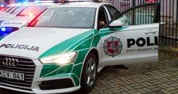 Į ligoninę guldomas sulaikytasis spyrė policininkui