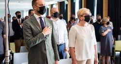 Šimonytė gina Landsbergį nuo kritikos: tai kažkoks nesusipratimas