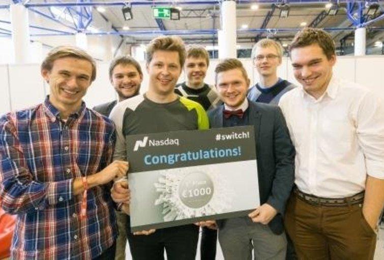 Geriausios #SWITCH! Challange hakatono programėlės nugalėtojai (nuotr. Organizatorių)
