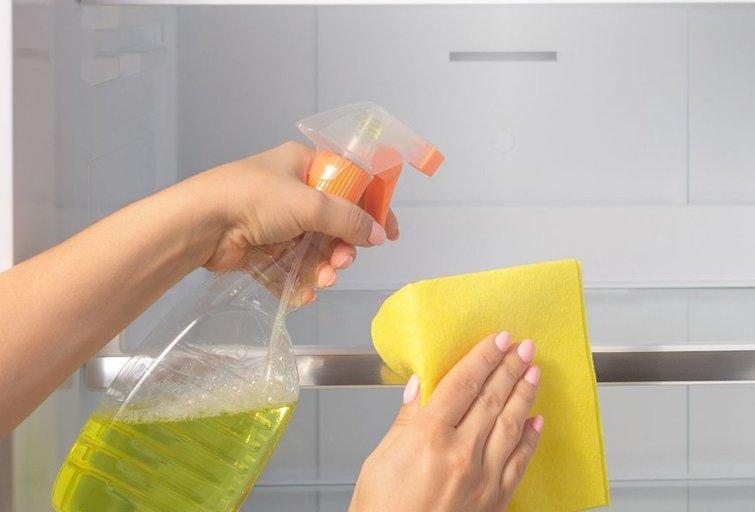 Šaldytuvo valymas  (nuotr. 123rf.com)