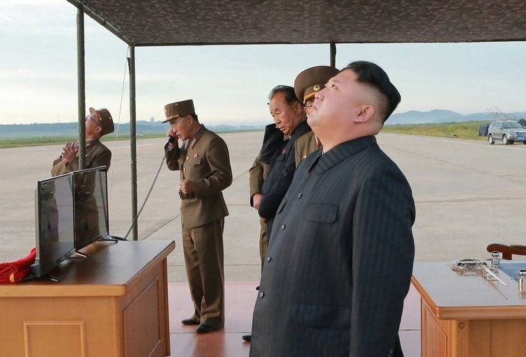 """Kim Jong-unas atrodo psichologiškai pasirengęs konfliktui"" (nuotr. SCANPIX)"