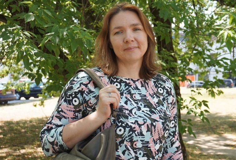 "Lietuvos autizmo asociacijos ""Lietaus vaikai"" valdybos pirmininkė Kristina Košel-Patil. Aurelijos Babinskienės nuotr."