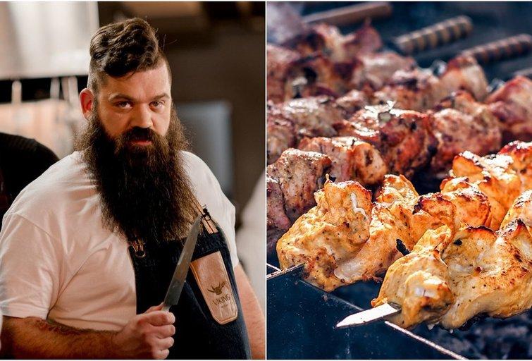 Ruošdami mėsą pasinaudokite šiais patarimais: virtuvės šefas pasakė, kaip neprašauti
