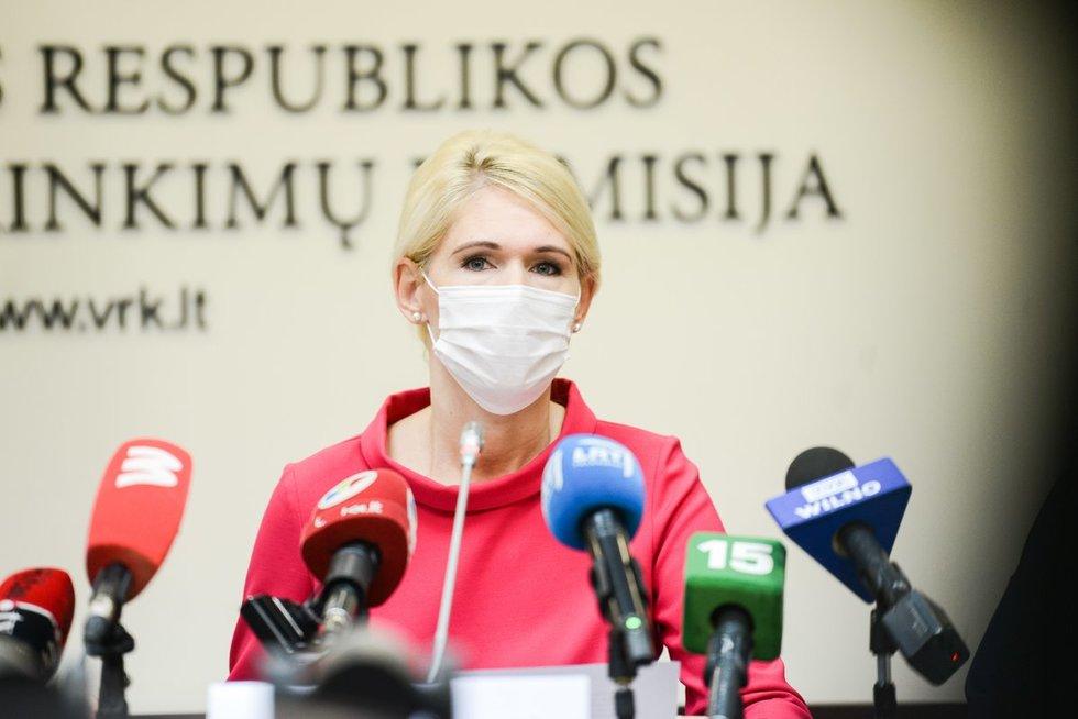 VRK apie 2020 metų Seimo rinkimus, Laura Matjošaitytė