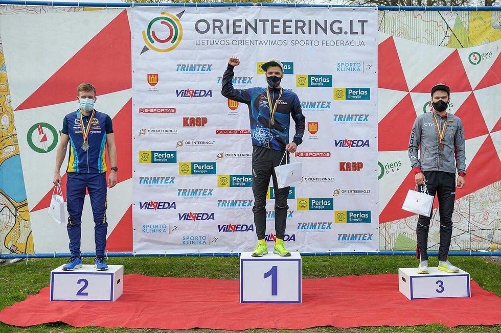 Lietuvos orientavimosi sporto čempionate nugalėtoją lėmė viena sekundė.