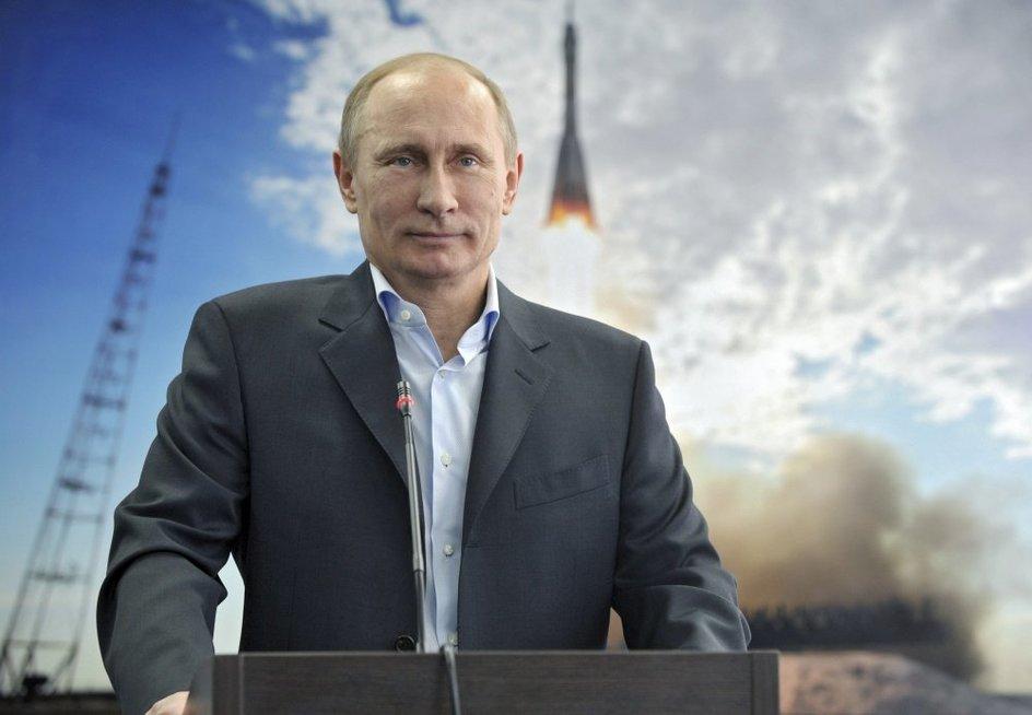 """V. Putinas """"trolina"""" Vakarus – ir tai nėra šiaip užgaida (nuotr. SCANPIX)"""