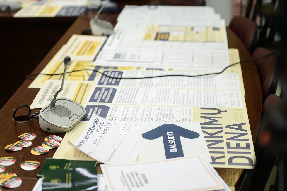 VRK apie 2020 metų Seimo rinkimus
