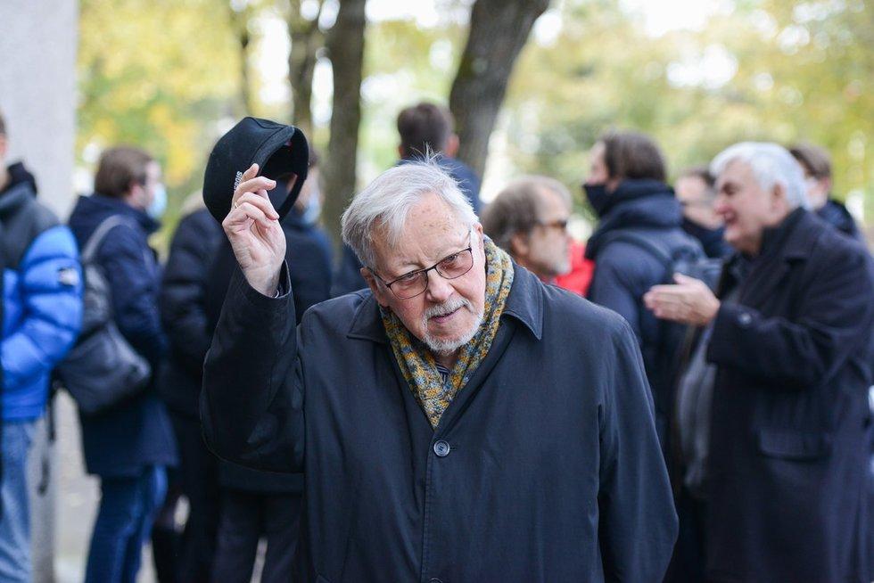 Profesorius Vytautas Landsbergis mini 88-ąją sukaktį.