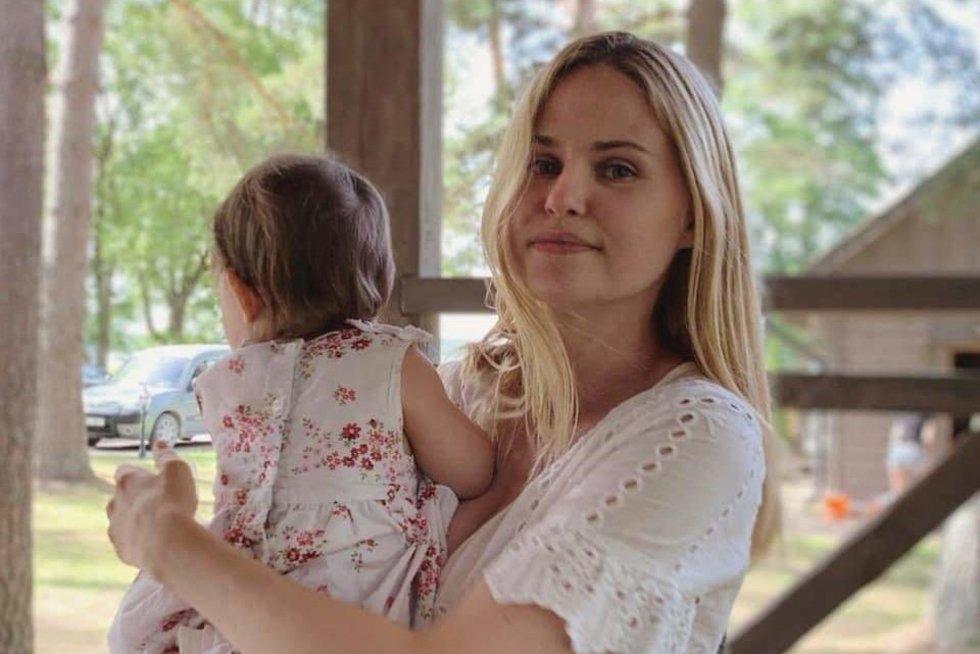 Ona Kolobovaitė su dukra Sofija (nuotr. asm. archyvo)