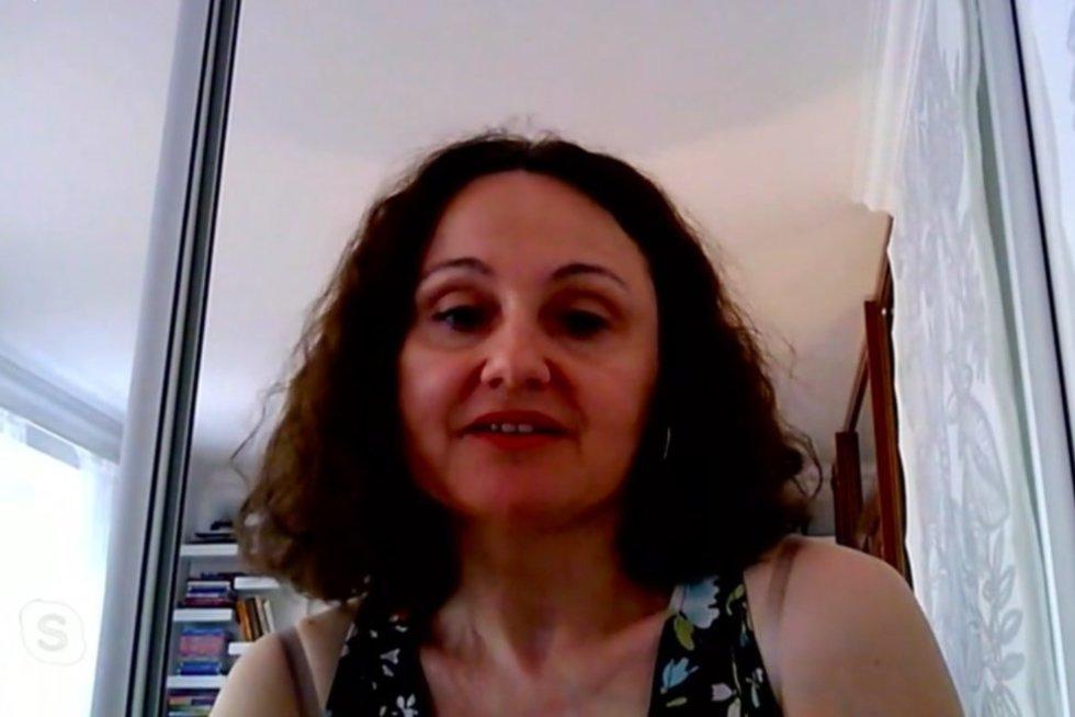 Psichoterapeutė Genovaitė Petronienė (nuotr. stop kadras)
