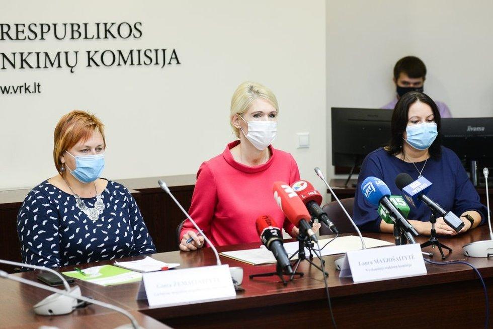 VRK apie 2020 metų Seimo rinkimus (nuotr. Fotodiena/Justino Auškelio)