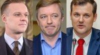 G. Landsbergis, R. Karbauskis, G. Paluckas (tv3.lt fotomontažas)