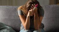 Teigiamas nėštumo testas  (nuotr. Shutterstock.com)