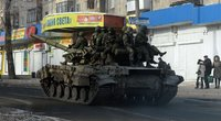 Smogikai Ukrainoje – profesionalūs rusų kariai? (nuotr. SCANPIX)