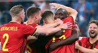 Belgijos ir Rusijos rungtynių momentai. (nuotr. SCANPIX)