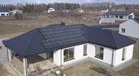 Penkių žvaigždučių būstas. Saulės jėgainės – būdas pasitarnauti gamtai ir piniginei (nuotr. stop kadras)