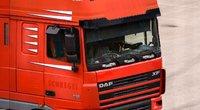 Sunkvežimių vairuotojai nemažą dalį algos gauna dienpinigiais (nuotr. Fotodiena/Justino Auškelio)