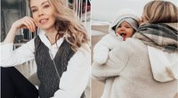 Rūta Banionytė su dukrele (tv3.lt fotomontažas)