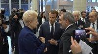 D. Grybauskaitės suspindo NATO susitikime: padėkojo ir susižavėjęs Prancūzijos prezidentas (nuotr. YouTube)