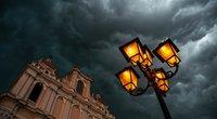 Lietus, orai (nuotr. Fotodiena/Justino Auškelio)