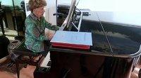 Pianistė (nuotr. stop kadras)