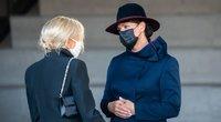 Diana Nausėdienė ir Brigitte Macron lankėsi MO muziejuje (nuotr. Fotodiena.lt)