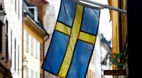 Švedijos vėliava (nuotr. SCANPIX)
